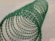 PVC coated concertina wire with four superiorities