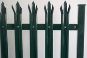 Roll top fence - safety fencing for school and playground