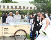 Ice Cream Cart Hire and Gelato Cart Packages for Weddings and Events